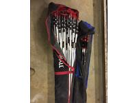 X2 bag of zipwall spring loaded pole x32 in total