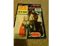 Star Wars Last 17 RARE Yakface original Tri-Logo Card Action Figure