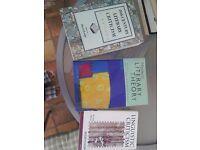 3 undergraduate English Literature books on literary criticism, theory and linguistic criticism