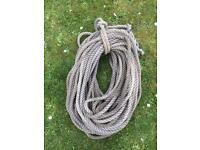 Anchor warp rope c.55m