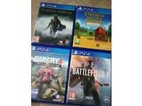 PS4 games bundle. (Would swap for xbox one games)