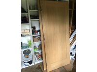 Pair of Internal Oak Doors with Hinges and Lock 1981 x 838 x 44 (cm) £160 retail for £900