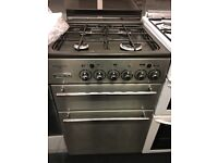 LEISURE 55CM ALL GAS COOKER IN STAINLESS STEE