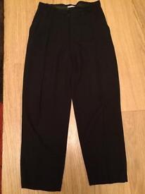 Black Jaeger trousers size 8
