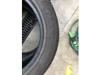 205/55 R17 Two tyres for sale 15£