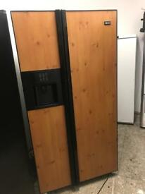 Maytag American fridge freezer with water and ice dispenser