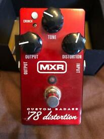 MXR Custom Badass 78 Distortion