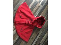 Girls cape jacket