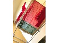 BEAUTIFUL BRAND NEW RED&GREEN BRIDAL ASIAN SUIT OUTFIT FOR SALE! READY MADE.