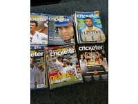 Joblot cricket magazines (the wisden cricketer and the cricketer)