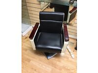 Barber chairs x2