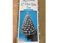 "32"" Fibre optic Christmas tree"