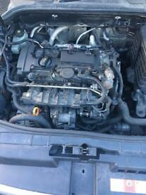 Golf gti axx complete engine with turbo