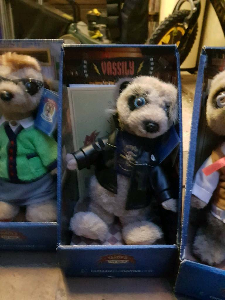 Compare the marker meerkat toy. Vassily.