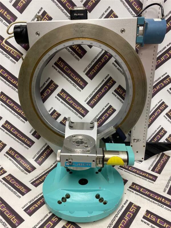 Huber Motorized Eulerian Cradle 511 w/ Huber 400series Rotation goniometer