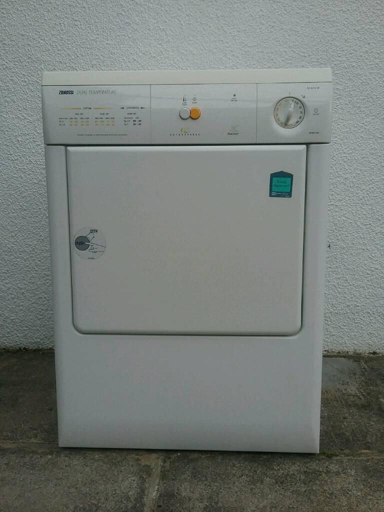 Zanussi Dual Temperature Tumble Dryer Td4212w In