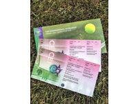 2 x Wimbledon 2018 Centre Court Tickets - Semi-Finals - 12th July