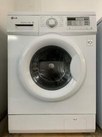 LG white good looking 7kg washing machine