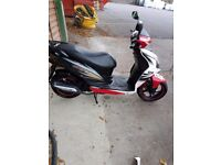 scooter 125cc sym jet 4 stroke