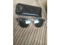 Ray-Ban Black & Gold