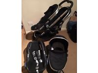 Icandy Peach 3 twin travel system