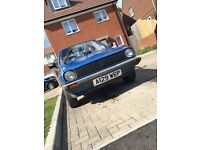 Mk2 polo comet blue has mot but doesn't run pretty sure it's the carb