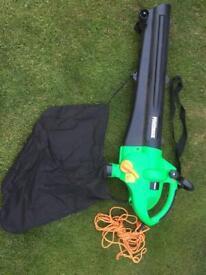 Garden leaf blower/vac