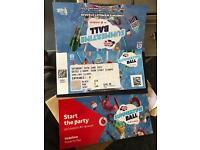 Summer time ball tickets x4 bargain £150