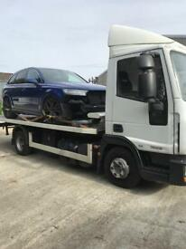 24/7 URGENT CAR VAN RECOVERY VEHICLE BREAKDOWN TOW TRUCK TOWING BIKE 4/4 TIPPER FORKLIFT TRANSPORT