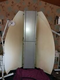 Tanning Extractor booth, like brand new. Just needs cleaned on the inside. Easy job