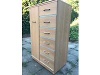 Compact Wardrobe (and matching pedestal drawers)