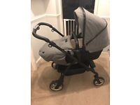 SILVER CROSS WAYFARER PRAM SPECIAL EDITION ETON GREY SILVER CROSS PRAM GREY PRAM - £399.00