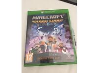 Xbox one game minecraft story mode