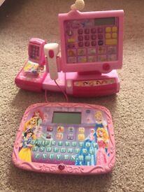 Disney princess tablet and till