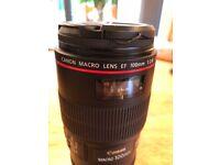 Canon 100mm 1:2.8 USM lens