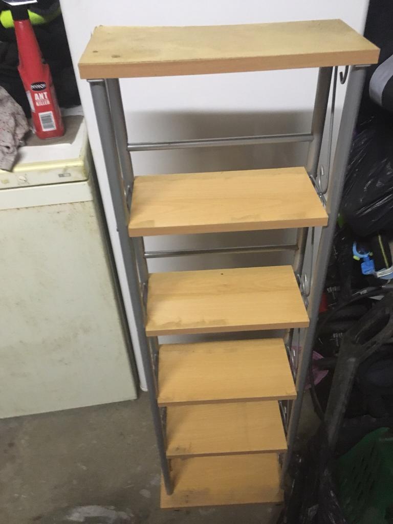 Shelving unit bookcase cds