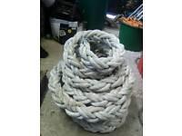 Manlla rope and nylon rope