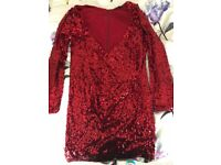 Womens sparkly sequin dress VERY size 16
