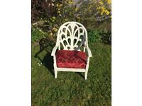 Shabby chic chairs x2