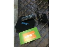 *** NOW TV SMART BOX, REMOTE AND WITH 3 MONTH ENTERTAINMENT PASS ***