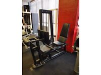 Pulse seated leg press