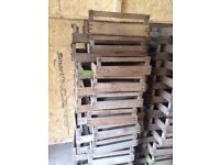 Vintage wooden crates /trays
