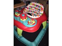 Lights and sounds Baby walker