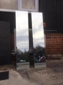 x1 Heavy Duty Mirror 139x30cm (1 left)