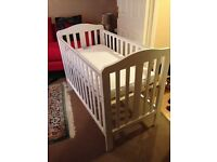 Mothercare Cot Bed + Mothercare Mattress: