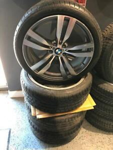Kit Mags+Tires BMW X3 with 245/40/20 **RUNFLAT**Pirelli Sottozero winter Tire **Usagé**1900$**