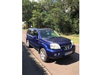 NISSAN X TRAIL 2.5 SVE MOT FULL LEATHER CRIUSE CONTROL 95.000 MILES LADY OWNER FIRST DRIVE BUYS