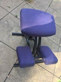 Ergonomic Kneeling chair - 2 available