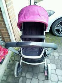 Mothercare Xpedior pushchair with accesories