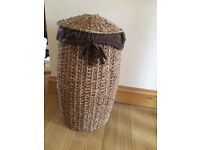 Next Laundry basket woven design VGC